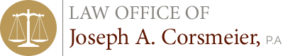 Law Office of Joseph A. Corsmeier, P.A Header Logo